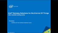 Video: Intel® IoT Gateways IDP with McAfee